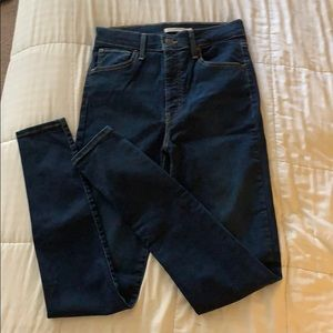 Levi's Mike High Super Skinny Jeans Long Inseam